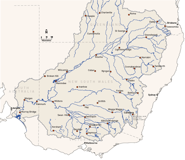 murray darling basin The murray-darling basin is one of the world's largest and most productive river  basins, accounting for $19 billion of agricultural output and providing one third of .