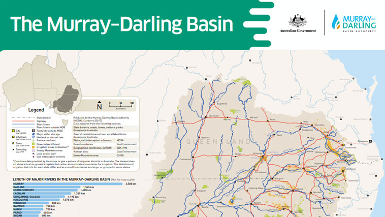 Map Of Australia Murray River.Education Downloads Murray Darling Basin Authority