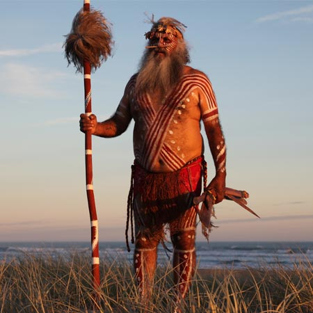 Major Sumner, an elder of the Ngarrinjerri, revived an ancient ceremonial practice to restore the health of the rivers during the millenium drought.