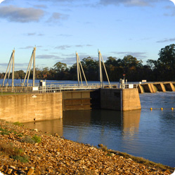 Locks on the River Murray