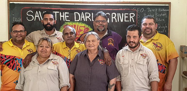 The Barkandji river rangers