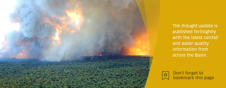 Bushfires in the Pilliga, NSW - image sourced from NSW DPI via Flickr (CC-BY)