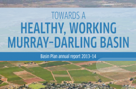 Read the Basin Plan annual report 2013–14