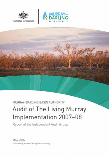 Audit of The Living Murray Implementation 2007–08