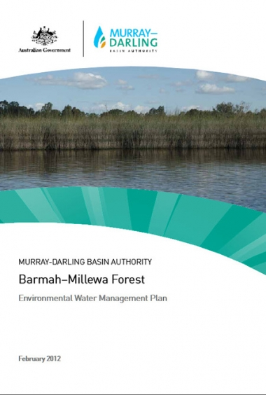 Barmah-Millewa Environmental Water Management Plan