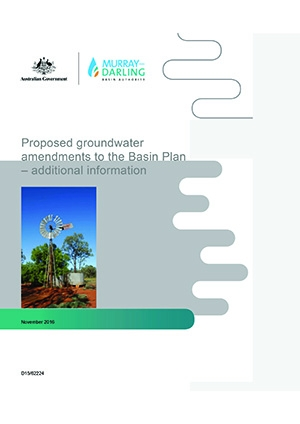 Proposed groundwater Basin Plan amendments - additional information