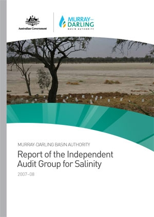 Basin Salinity Management Strategy - 2007-08 IAG Report