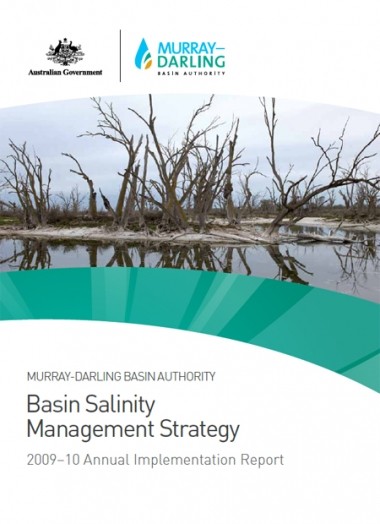 Basin Salinity Management Strategy 2009-10 Annual Implementation Report