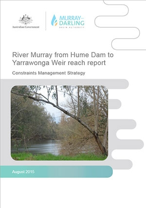 Hume Dam to Yarrawonga Weir reach report