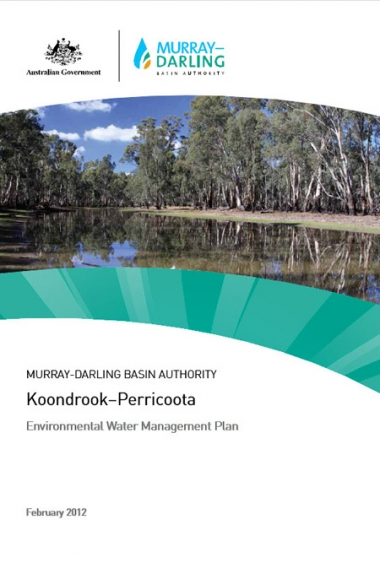 Koondrook-Perricoota Environmental Water Management Plan