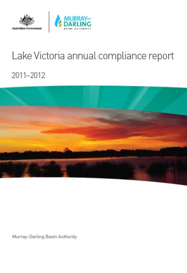 Lake Victoria annual compliance report 2011-2012