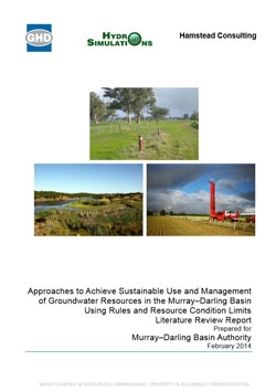 literature review on groundwater pollution Contamination of soil and groundwater due to stormwater infiltration practices, a literature review.