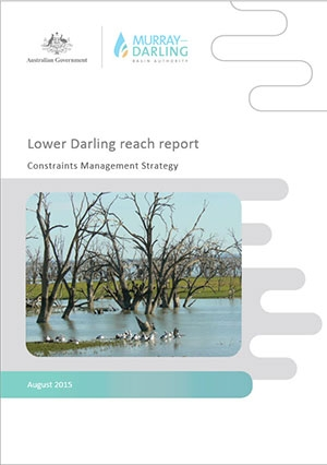 Lower Darling reach report