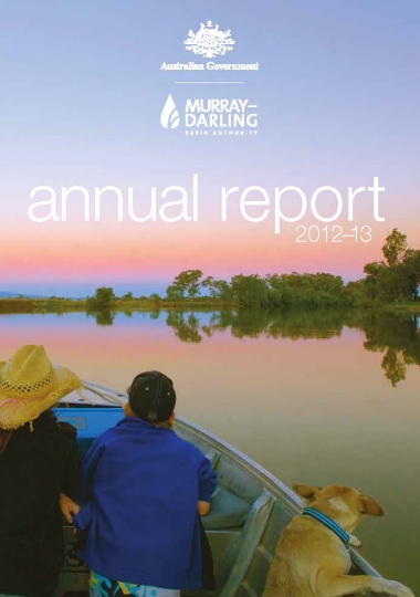 Murray–Darling Basin Authority annual report 2012-13