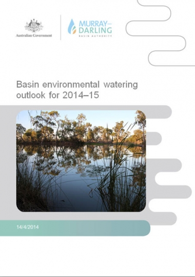 Basin environmental watering outlook for 2014-15