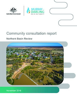 Northern Basin Review - community consultation report