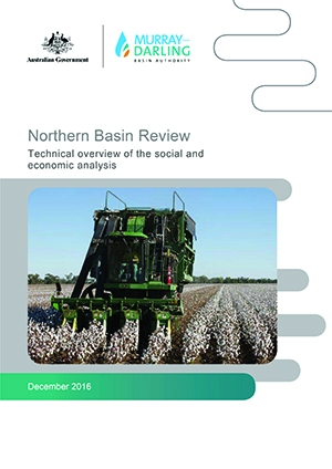 Northern Basin Review - technical overview of the social and economic analysis