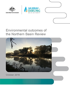 How does water recovery affect flows and environmental outcomes in the northern basin?
