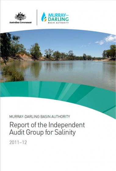 Report of the Independent Audit Group for Salinity 2011-12