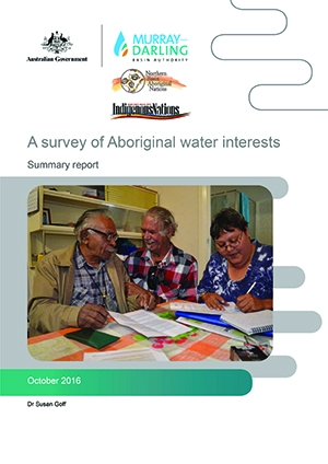 A survey of Aboriginal water interests - summary