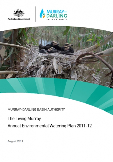 The Living Murray Annual Environmental Watering Plan 2011–12