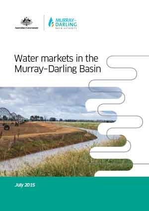 Water markets in the Murray-Darling Basin