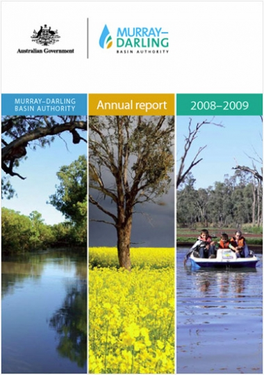 Murray–Darling Basin Authority annual report 2008-09