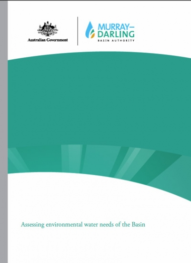 Assessing environmental water needs of the Basin