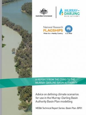 CSIRO advice on defining climate scenarios for Basin Plan modelling