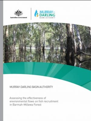 Assessing the effectiveness of environmental flows on fish recruitment in Barmah-Millewa Forest