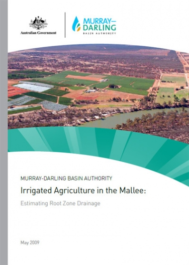 Irrigated Agriculture in the Mallee
