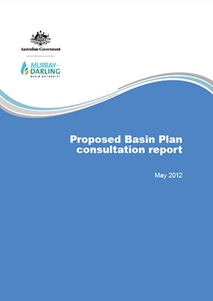 Proposed Basin Plan consultation report