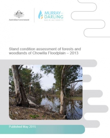 Stand Condition assessment of forests and woodlands reports for The Living Murray icon sites – 2013