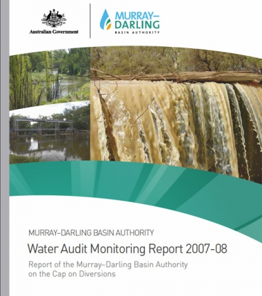 Water Audit Monitoring Report 2007-08